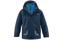 Vaude Kids Campfire 3in1 Jacket III deep water